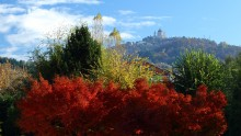 View on Superga, Turin, Italy