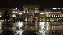 Corso Vittorio Emanuele II at night