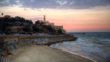 View of Jaffa from the Tel Aviv Promenade