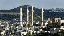 Akhmad Kadyrov Mosque in Abu Ghosh